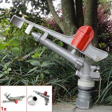 Irrigation Spray Gun 1.5'' Sprinkler Gun Large Impact Area 360° Adjustable Water