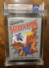 Atari 2600 Parker Brothers 1982 Spider-man Sealed WATA Graded 9.8 A++ Rare!!