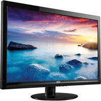 """24"""" AOC DVI/VGA Desktop Computer Monitor 1080p Widescreen LED LCD - E2425SWD"""