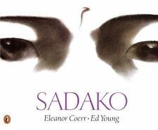 Kids beautiful paperback:Sadako,dying girl tries to fold 100 cranes to get well