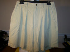 Women's Tan Silk Tommy Bahama Dress Shorts, Size 12