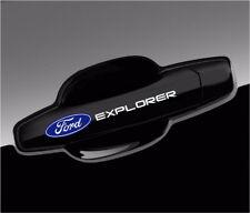 Ford Explorer Decal Logo Door Handle Wheels Mirror Vinyl Stickers (Set of 4)