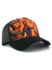 New Era Spider-Man Adjustable Hat Sinister Six Marvel Rhino Shocker Lizard Black