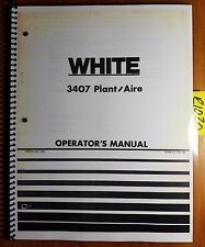 WFE White 3407 Plant/Aire Planter Owner's Operator's Manual 437 188 1/75