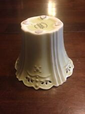 Yankee Candle Porcelain Green Candle Holder