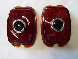 1940 1947 1948 1949 1950 1951 1952 1953 Chevy Truck Blue Dot tail light lenses