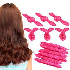 20Pcs Soft Foam No Heat  Hair Roller Curler Sleep Sponge Pillow Satin Rollers