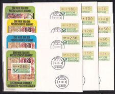 Echte Ersttagsbrief-Briefmarken aus der Philatelie