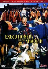EXECUTIONERS FROM SHAOLIN --- Hong Kong Kung Fu Martial Arts Action movie DVD