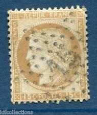 Classique de France Cérès N°55 oblitération étoile de paris N°15 type II RARE