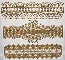 Anna Griffin Border Dies from Bow Design to open Weave Design Trim Emboss U Pick