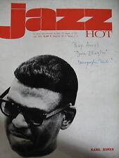JAZZ HOT N° 221 EARL HINES BOBBY HUTCHERSON PONTY FRANCFORT 1966