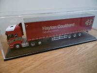 OXFORD Hayton Coulthard Scania R450 Topline & curtainside trailer1:76 scale