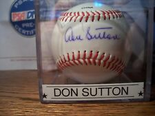 Don Sutton Signed Autograph Baseball with PSA/DNA