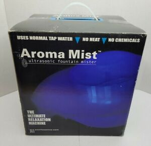 Aroma Mist Ultrasonic Fountain Mister Ultimate Relaxation Machine!!!
