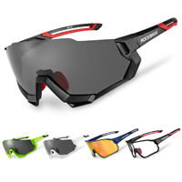 RockBros Cycling Sunglasses Polarized Goggles Photochromatic Goggles Glasses New