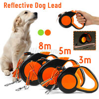 3/5/8M Lead Walking Leash Dog Retractable Pet Training Extendable Traction Rope