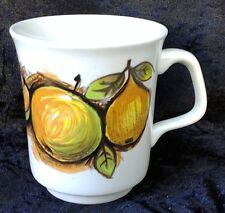Vintage Retro Eden Coffee Mug Cup J&G Meakin Studio Fruit Alan Rodgers 60s