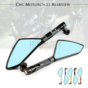 Motorcycle AX Rearview Side Mirror For SUZUKI GSXS1000 B-KING GSR750 600 GSXS750