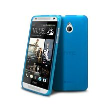Coque Pour HTC One mini (M4) Semi Rigide Extra Fine mat/brillant Bleue