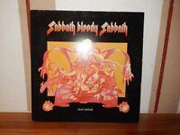 """BLACK SABBATH    """"   SABBATH BLOODY SABBATH    """"   LP  UK Pressung"""