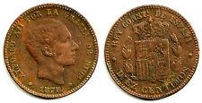 ALFONSO XII. 10 CÉNTIMOS DE 1878 (FALSO DE ÉPOCA)
