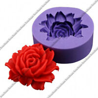 DIY Flower Mould Silicone 3D Rose Fondant Cake Mold Decorating Tools Sugarcraft