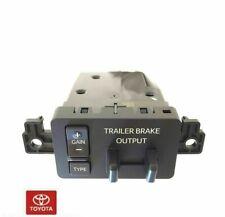 NEW OEM TOYOTA TUNDRA 2015-2017 TRAILER BRAKE CONTROLLER & DASH BEZEL