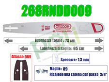 "BARRA OREGON POWER MATCH 268RNDD009 PASSO 3/8"" x 1,5 mm x 89 MAGLIE - 65 cm"