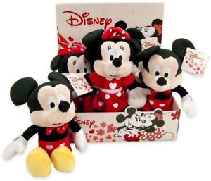 Mickey Mouse / Minnie Mouse Hearts edition - Official Disney Toy 27cm / Small