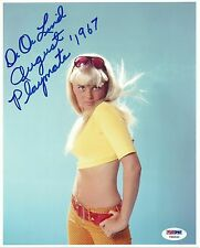 DeDe Lind Signed 8x10 Photo PSA/DNA COA August 1967 Playboy Magazine Playmate