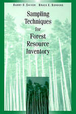 NEW Sampling Techniques for Forest Resource Inventory by Barry D. Shiver