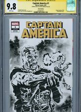 CROSSBONES Sketch cover art by MIKE PERKINS CGC SS 9.8 Marvel Disney Avengers