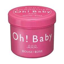 House of Rose Oh! Baby Body Smoother Body Scrub 570g ---- Made In Japan