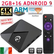 Mini Q1 Android 9.0 TV Box 2GB+16GB Ultra HD Media Player Dual WiFi 4K 2.4G/5GHz
