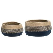 4Living Set of 2 Round Baskets Nala