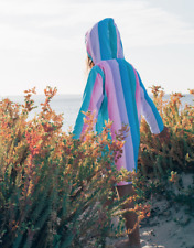 Hooded Towelling Robes Back Beach Co