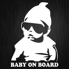 BABY ON BOARD Sticker Vinyl Car Decal Mum Life 190mm X 140mm