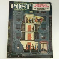 The Saturday Evening Post February 25 1961 James Stewart Story Feature Newsstand