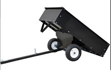 RIDE ON MOWER TIPPING TRAILER (550LBS/226KG Capacity) P# DC500