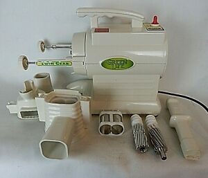 GREEN LIFE Twin Gear Juice Extractor GL-20001 Tested and works! Clean!