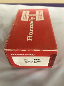Hornady 35 Cal 250 Grain .358 #3520 Interlock Qty 60 Bullets Open Box Reload