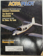AOPA Pilot Magazine Mooney MSE & Currency September 1996 052015R