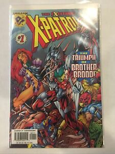 THE EXCITING X-PATROL #1  AMALGAM COMICS 1997