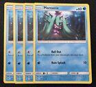 4 x Mareanie Guardians Rising 39/145 NEAR MINT Pokemon TCG Card