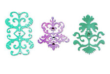 NEW ✿ 3 Decorative Ornate Filigree Accents Die ✿ For Cuttlebug & Sizzix ✿