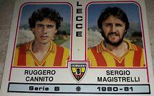 FIGURINA CALCIATORI PANINI 1980/81 LECCE N° 415 ALBUM 1981