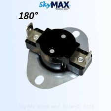 180 Degrees Fahrenheit Water Overheat Thermostat for DC water heater element