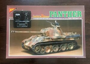 """* Nichimo 1/35th scale Remote Control German """"PANTHER-G"""" Tank"""