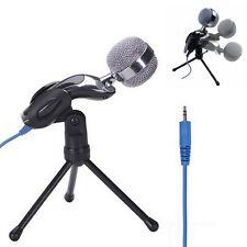 Microphone Mikrofon Kit Komplett Set für Studio Aufnahme 3,5 Klinke AUX Neu